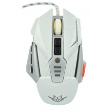 Wired Gaming Mouse Keywin Q9 Backlight 7 Buttons 3200 CPI White - Silver