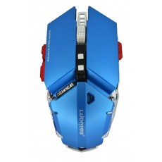 Wired Mechanical Gaming Mouse Luom G50 10 Buttons 4000 DPI Blue