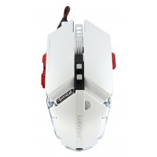 Wired Mechanical Gaming Mouse Luom G50 10 Buttons 4000 DPI White