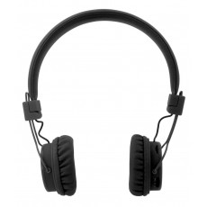 Bluetooth Headphone Stereo NIA Foldable NIA-X3 Multi Pairing Black with , Microphone, FM Radio and MP3 Player with Micro SD