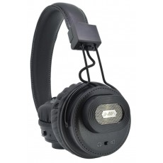 Bluetooth Headphone Stereo NIA Foldable NIA-X5SP Black with , Microphone, FM Radio, Audio In and MP3 Player with Micro SD