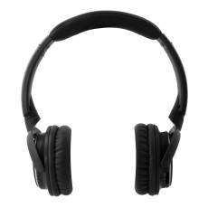 Bluetooth Headphone Stereo NIA-Q1 Black with Microphone, FM Radio, Audio In and MP3 Player with Micro SD