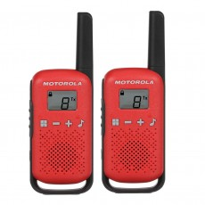 Walkie Talkie Motorola Go Live PMR T42 Red. Coverage 4 km