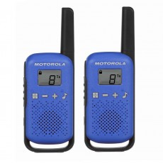 Walkie Talkie Motorola Go Live PMR T42 Blue. Coverage 4 km