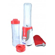 Blender N'OVEEN Sport Mix & Fit SB-560 with Two 600 ml Bottles and Sports Case 300W Red