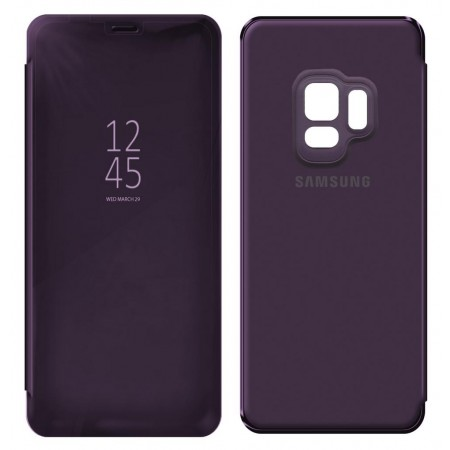 Case Faceplate Samsung Clear Standing Cover EF-ZG960CVEGWW for SM-G960 Galaxy S9 Violet