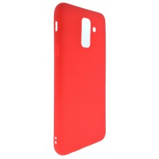 Case Jelly Ancus for Samsung SM-A605F Galaxy A6+ (2018) Red