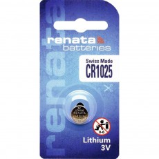 Buttoncell Lithium Electronics Renata CR1025 Pcs. 1