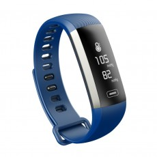Maxcom Smartband FitGo FW11 Light IP67 Black Silicon Band. Extra Strap Blue