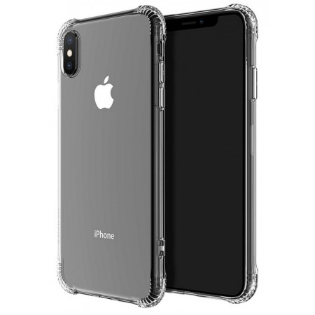 Case Hoco Armor Series Shatterproof Soft for Apple iPhone X / XS Μαύρη