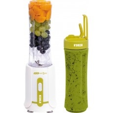 Blender N'OVEEN Sport Mix & Fit SB210 with Two 600 ml Bottles 300W Green