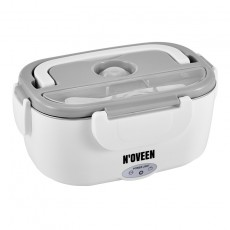 Lunch Box N'OVEEN LB410 40W INOX Interior Quick Heater 40W Grey
