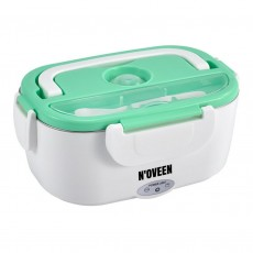 Lunch Box N'OVEEN LB410 40W INOX Interior Quick Heater 40W Green
