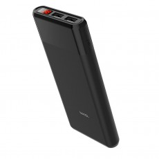 Power Bank Hoco B35C Entourage Mobile 12000 mAh Fast Charging for Micro-USB Device with 2 USB Ports Black