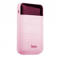 Power Bank Hoco B29 Domon 10000 mAh with 2 USB Ports Pink