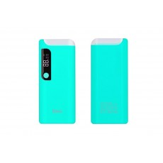Power Bank Hoco B27 PuSi 15000 mAh with USB Port Table Lamp and Digital Indicator Blue