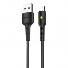 Data Cable Hoco X30 USB to Micro USB Black 1.2 m