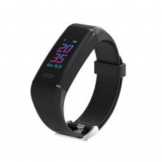 Maxcom Smartband FitGo FW13 Nitro IP67 Black Silicon Band with Color TFT Screen and AGPS