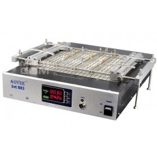 Preheater for Tablet Aoyue Int883 1500W with Display and Temperature Setting 50° - 400° (52x37x10 cm)