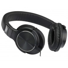 Headphone Stereo KOMC Fashion S35 3.5 mm Black with Microphone for Mobile Phones, Tablet and Electronic Devices