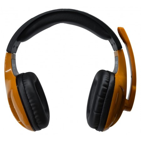 Headphone Stereo KOMC Multimedia Headset A21 Black - Brown