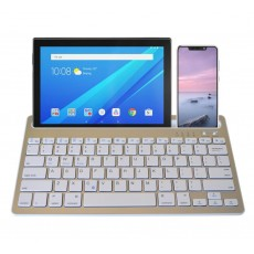 Bluetooth Keyboard Mobilis RK908 for Smartphone, Tablet, PC and SmartTV Silver