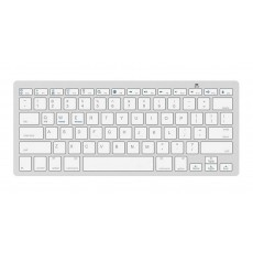 Bluetooth Keyboard Mobilis BK3001 for Smartphone, Tablet, PC and SmartTV Silver - White