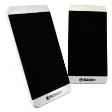 Multimedia Speaker Stereo Ezeey S5 with 3.5mm jack and USB Charge, 2.5W x 2, 4Ω 3W, White