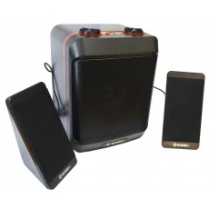 Multimedia Speaker Stereo Ezeey S5 Max with 3.5mm jack and USB Charge, Black
