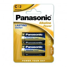 Battery Panasonic Alcaline Power LR14APB/2BP size C Pcs. 2