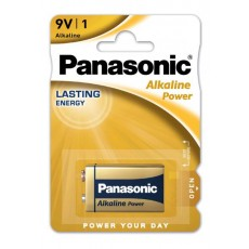 Battery Alkaline Panasonic Alcaline Power 6LF22 9V Pcs, 1