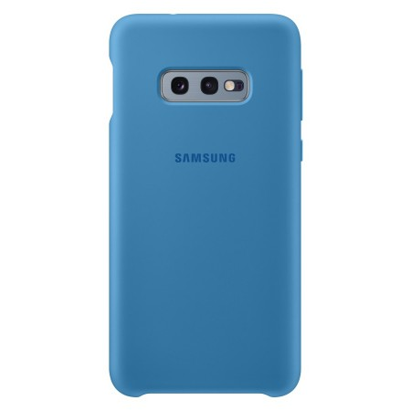 Case Faceplate Samsung Silicone Cover EF-PG970TLEGWW for SM-G970 Galaxy S10e Blue