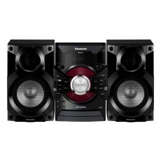 HiFi Micro System Panasonic SC-AKX18E-K Black with USB 2.0, AUX and Bluetooth
