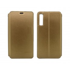 Book Case Ancus Magnetic Teneo for Samsung SM-A750 Galaxy A7 (2018) TPU Gold
