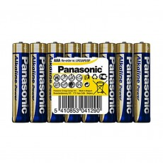 Battery Alkaline Panasonic Alcaline Power LR03APB/8P size AAA 1.5V Pcs, 8