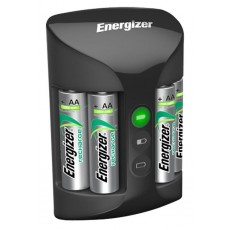 Battery Charger Energizer ACCU Recharge PRO with AA/AAA with 4 ΑΑ Batteries 2000mAh Included