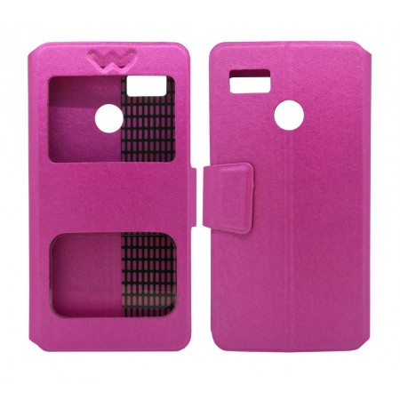 Book Case S-View Ancus Stick it F Series for Hisense F17 / F17 Pro Fuchsia