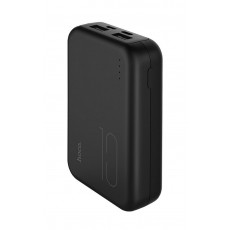 Power Bank Hoco J38 Comprehensive 10000 mAh 37W with Micro-USB and Type-C and Fast Charging of 2 USB output 5V/2A Black