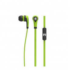 Hands Free Body Glove Blast Earphones Stereo 3.5mm Green with Micrphone