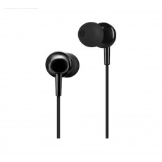 Hands Free Hoco M14 Initial Sound Earphones Stereo 3.5mm Black with Micrphone and Operation Control Button