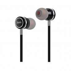 Hands Free Hoco M16 Ling Sound Earphones Stereo 3.5mm Black with Micrphone and Operation Control Button