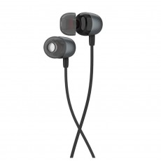 Hands Free Hoco M31 Delighted Sound Earphones Stereo 3.5mm Metal Gray with Micrphone and Operation Control Button