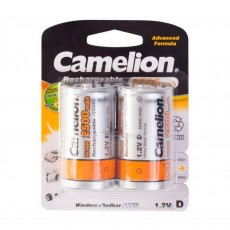 Rechargeable Battery Camelion ACCU NH-D2500 2500 mAh size D 1.2V Pcs 2