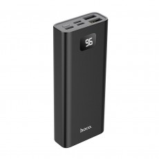 Power Bank Hoco J46 Star Ocean 10000mAh Type-C, Micro USB & Lightning Input and 2 USB Output Fast Charging and LED Indicator Black
