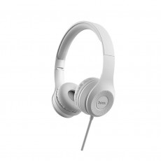 Headphone Stereo Hoco W21 Graceful Charm 3.5mm with Microphone Grey