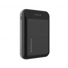 Power Bank Borofone BT17 RayPower Mini 10000mAh Micro USB Input & Dual USB 5V/2A Output Fast Charging and LED indicator Black