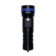Flashlight Xtar D26 1600 IPX8 Diving function and One-Hand Operated Black 1600 Lumens/Distance 432m
