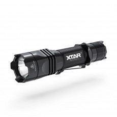 Set Flashlight Xtar TZ28 1500 Dual Switch IPX8 Black 1500 Lumens/Distance 340m with Charger MC1 Plus, Holster and set Case