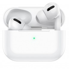 True Wireless Bluetooth Hoco ES36 Original Series for Apple Generation 3 DC 5V v.5.0 White with Wireless Charging