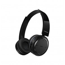 Bluetooth Stereo Headphone Panasonic RP-BTD5E-K Black with Fold Flat and Play Time 40 hrs
